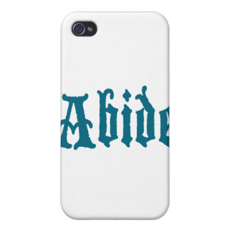 Abide (blue cool edition) cover for iPhone 4