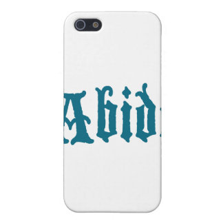 Abide (blue cool edition) iPhone 5 cases