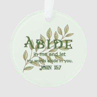 Abide In Me Ornament