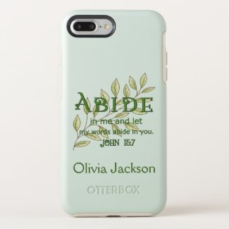Abide In Me OtterBox Symmetry iPhone 8 Plus/7 Plus Case