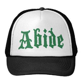 Abide (the green edtion) trucker hats