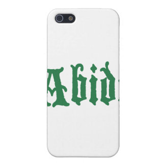 Abide (the green edtion) cover for iPhone 5