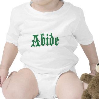Abide (the green edtion) tshirts
