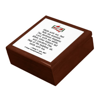 Abide With Me Hymn Trinket Boxes