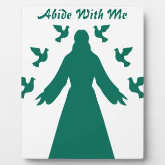 Abide With Me Jesus Plaque