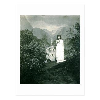 Abide with Me, Vintage Postcard