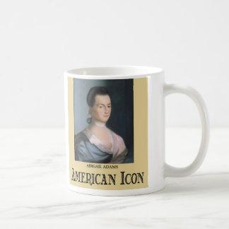 Abigail Adams Classic White Coffee Mug