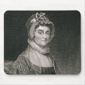Abigail Adams, engraved by G.F. Storm (fl.c.1834) Mouse Pad