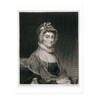 Abigail Adams, engraved by G.F. Storm (fl.c.1834) Postcard