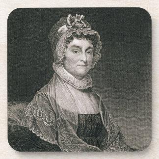 Abigail Adams, grabado por G.F. Storm (fl.c.1834) Posavaso