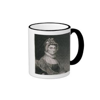 Abigail Adams grabado por G F Storm fl c 1834 Taza De Café