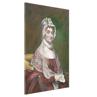 Abigail Adams later in life, by Gilbert Stuart Canvas Print