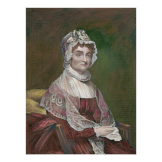 Abigail Adams later in life, by Gilbert Stuart Poster