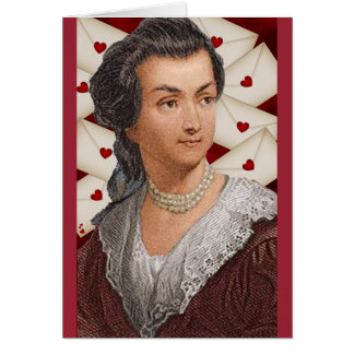 Abigail Adams love letters Card