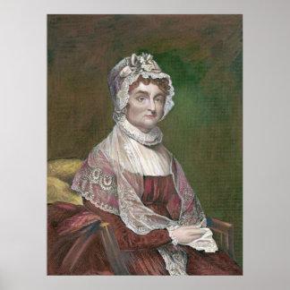 Abigail Adams más adelante en vida, por Gilbert Póster
