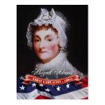 Abigail Adams, primera señora de los E.E.U.U. Tarjetas Postales