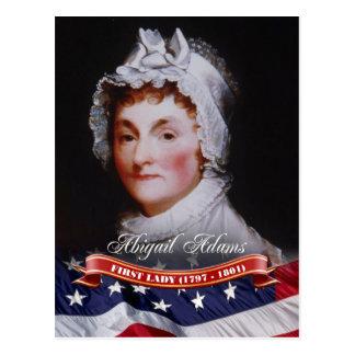 Abigail Adams, primera señora de los E.E.U.U. Postales