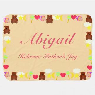 Abigail Baby Blanket Template