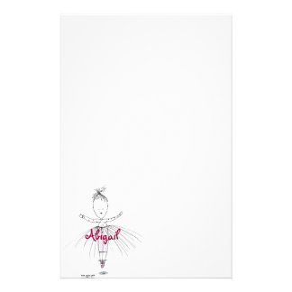 Abigail - Little Dancer Personalized Stationery