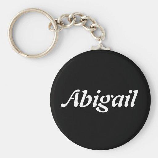 Abigail Llaveros Personalizados