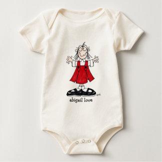 abigail love infant wear baby bodysuit