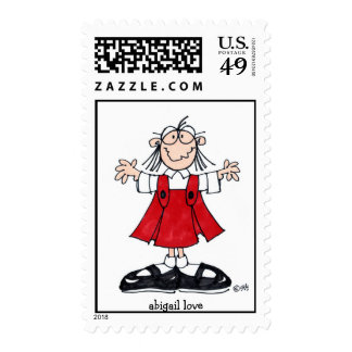 abigail love postage stamps
