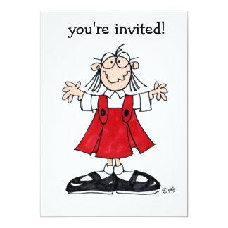 "ABIGAIL LOVE ""YOU'RE INVITED"" PARTY INVITATION"