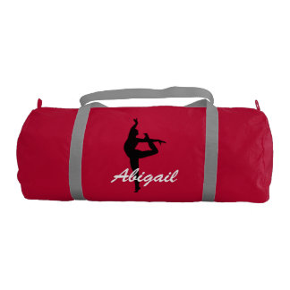 Abigail personalized duffle gym bag gym duffle bag