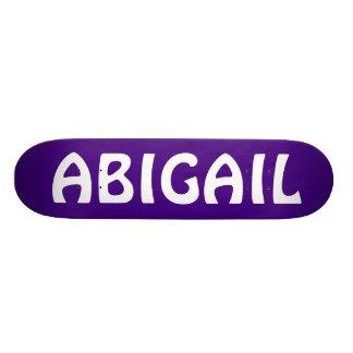 ABIGAIL Personalized skateboard