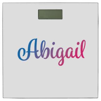 Abigail Stylish Cursive Bathroom Scale