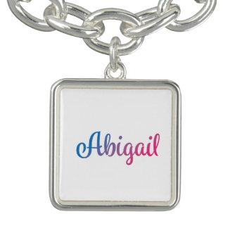 Abigail Stylish Cursive Bracelet