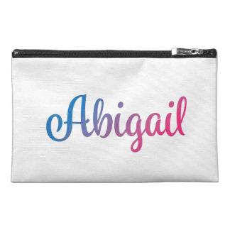 Abigail Stylish Cursive Travel Accessory Bag