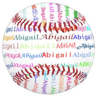 Abigail Text Design II Softball
