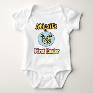Abigail's 1st Easter Shirt