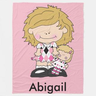 Abigail's Personalized Blanket