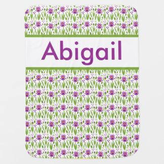 Abigail's Personalized Iris Blanket
