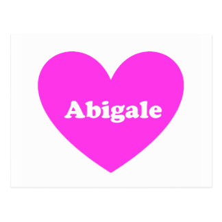 Abigale Postcard