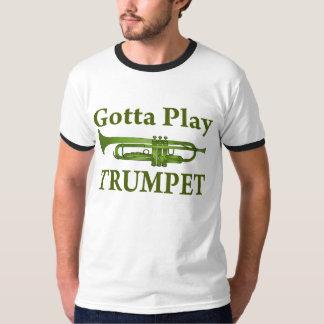 Abigarrado verde conseguido para jugar el regalo camisas