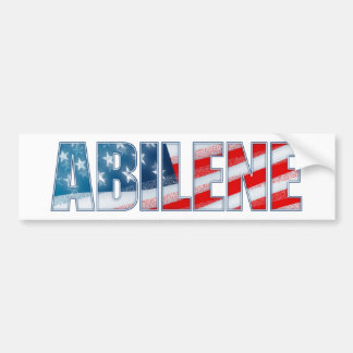 Abilene Bumper Sticker