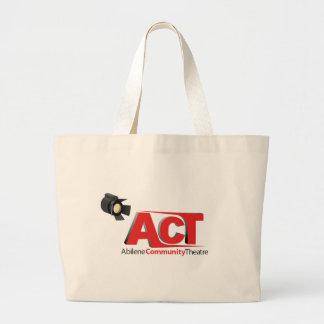 Abilene Community Theatre Logo Tote Bag