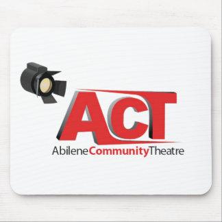 Abilene Community Theatre Logo Mouse Pad