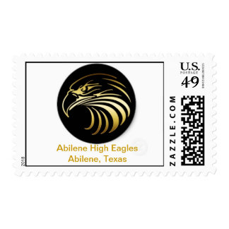 Abilene High postage stamps