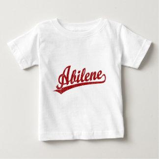 Abilene script logo in red baby T-Shirt