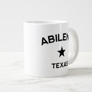 Abilene Texas Large Coffee Mug