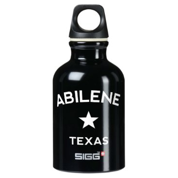 USA Themed Abilene Texas Water Bottle