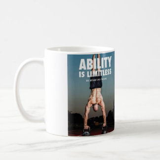 Ability Is Limitless - Workout Motivational Coffee Mug