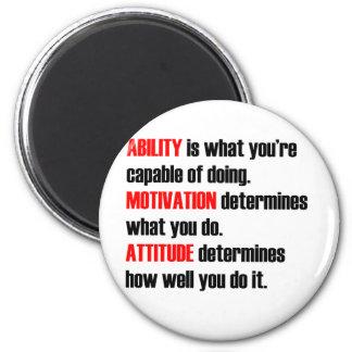 ability motivation attitude magnet