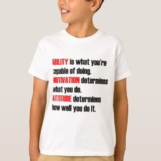 ability motivation attitude T-Shirt