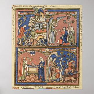 Abimelech y Samson Póster