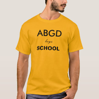 Abingdon boys school T-Shirt